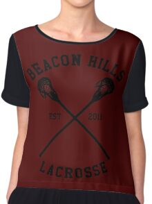 Beacon Hills Lacrosse Chiffon Top