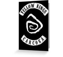 Yellow Kings Greeting Card