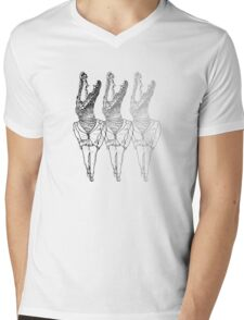 Humanoid Dinosaurs are Fun 3 Mens V-Neck T-Shirt