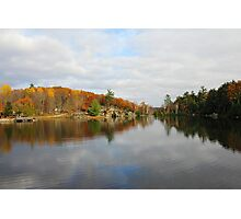 Trout Lake In Omega Park Photographic Print