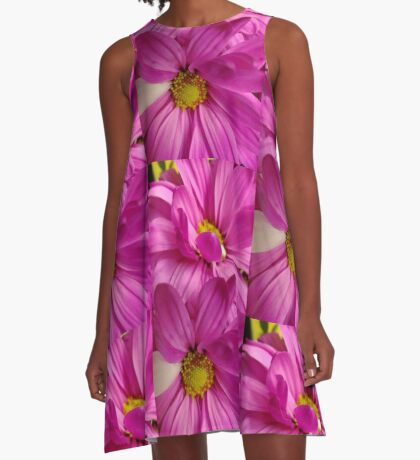 daisies A-Line Dress