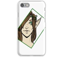 Elven Visage  iPhone Case/Skin
