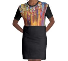 Downtown Graphic T-Shirt Dress