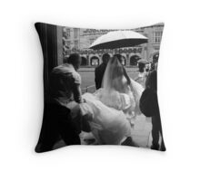 Offbeat Bride Throw Pillow