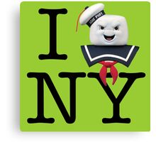 Ghostbusters - I Stay Puft New York Canvas Print