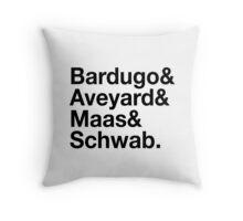 YA Authors Throw Pillow