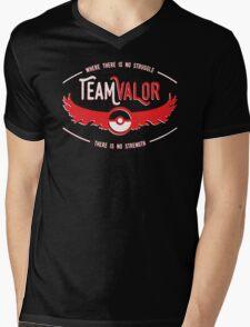 Team Valor - Strength Through Struggle Mens V-Neck T-Shirt