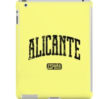 Alicante Spain (Black Print) iPad Case/Skin