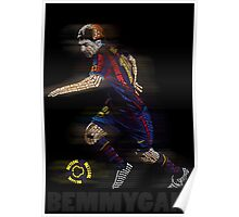 Lionel Messi FIFA Football Soccer Poster Typography Art Poster
