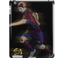 Lionel Messi FIFA Football Soccer Poster Typography Art iPad Case/Skin