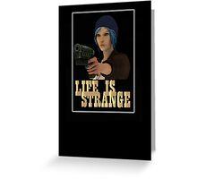 gun life is strange art t-shirts Greeting Card