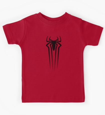 the amazing spider man logo Kids Tee