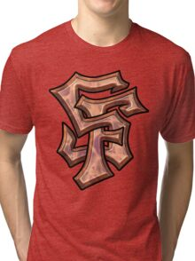 SF Graffiti Base Tri-blend T-Shirt