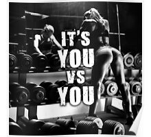 It's You VS You Poster