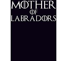 Mother of Labradors T Shirt Photographic Print
