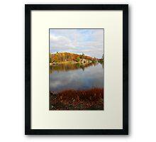 Trout Lake In Omega Park II Framed Print