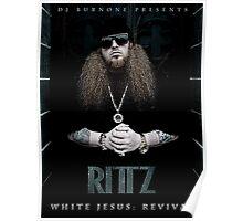 RITTZ White Jesus Poster