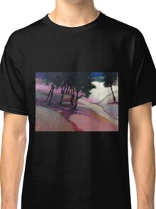 Landscape with trees Classic T-Shirt