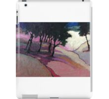 Landscape with trees iPad Case/Skin