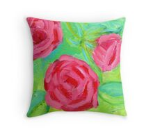 Pack Your Rose Colored Glasses 4 Throw Pillow