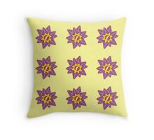 Starpattern Throw Pillow