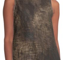 Rustic Countryside Nature Tree Bark Outdoors Design Contrast Tank