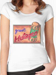 Great Mutagen  Women's Fitted Scoop T-Shirt