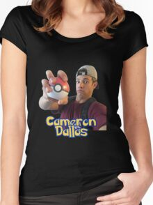 Pokemon Cameron Dallas  Women's Fitted Scoop T-Shirt