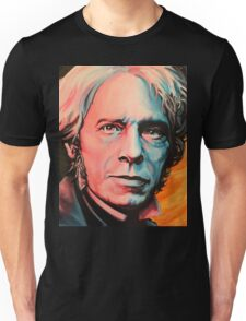 """Magnetic Moment"" Portrait of Michael Faraday Unisex T-Shirt"
