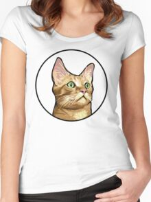 Tito the Cat Women's Fitted Scoop T-Shirt