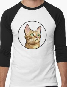 Tito the Cat Men's Baseball ¾ T-Shirt