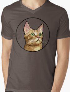 Tito the Cat Mens V-Neck T-Shirt