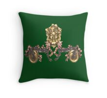 head and tails Throw Pillow