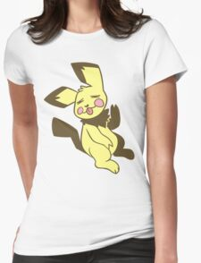 Pastel Pichu Womens Fitted T-Shirt