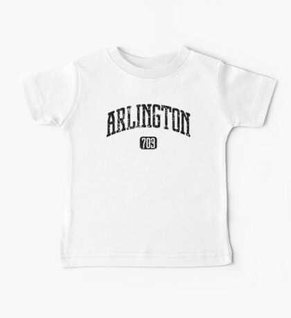 Arlington 703 (Black Print) Baby Tee