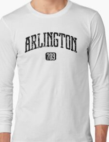 Arlington 703 (Black Print) Long Sleeve T-Shirt