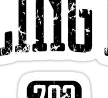 Arlington 703 (Black Print) Sticker