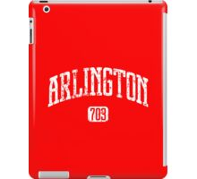 Arlington 703 (White Print) iPad Case/Skin