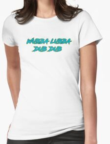 Wubba Lubba Dub Dub Womens Fitted T-Shirt