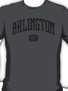 Arlington 817 (Black Print) T-Shirt