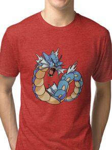 Pokemon - Gyarados Merch Tri-blend T-Shirt