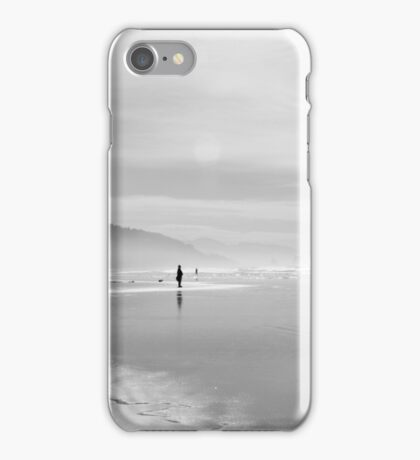 A Silver Day on the Beach iPhone Case/Skin