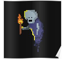 Pixel ghost Poster