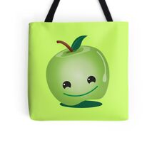 Cute green apple Tote Bag