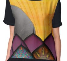 Inner ChiId -  I Thought I Saw The Sun Drown Last Night Chiffon Top