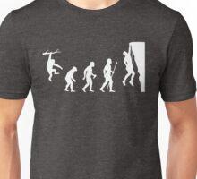 Funny Rock Climbing Evolution T Shirt Unisex T-Shirt