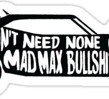 Please, Bury Me With It Sticker