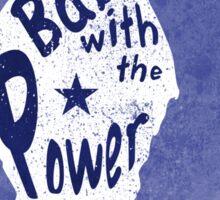 Crow Babe Power Shield Sticker