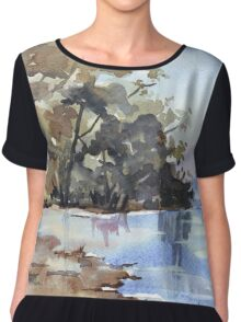Why the environment has to be preserved Chiffon Top