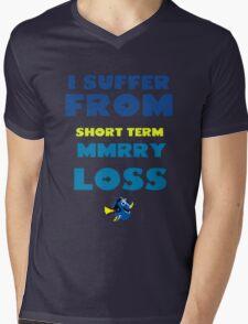 MMRY LOSS Mens V-Neck T-Shirt